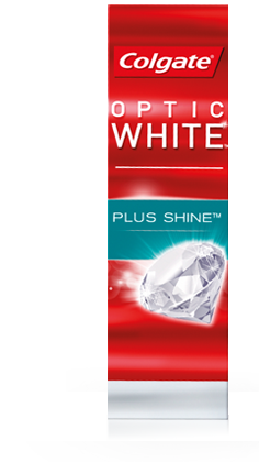 Colgate® Optic White™ Plus Shine works